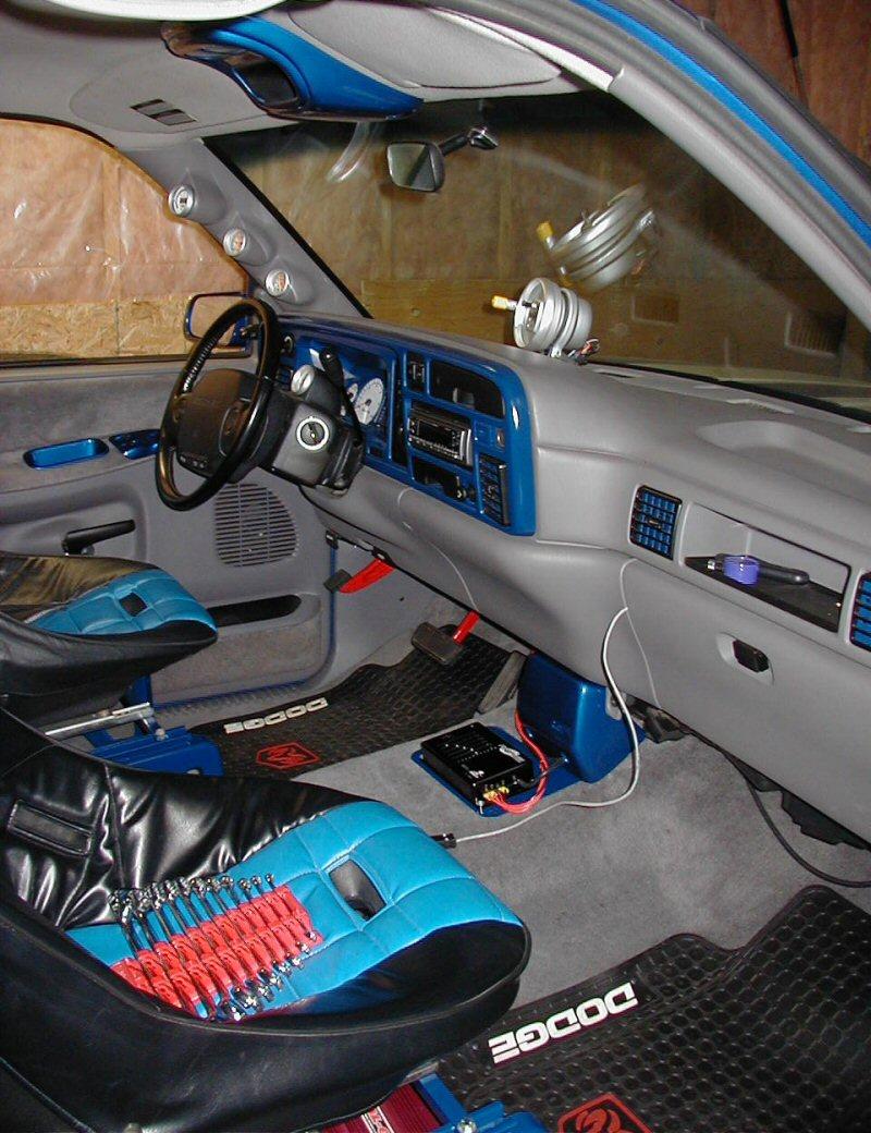 2000 Dodge Ram Interior Parts